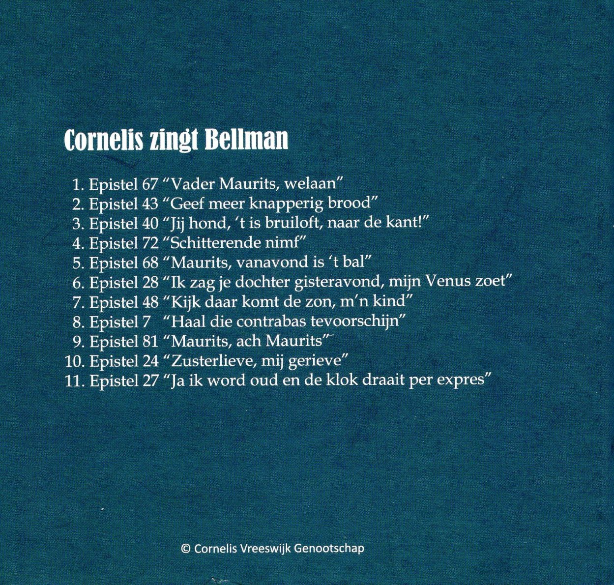Bellman CD Back